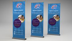 home-swapper-banner Roller Banners, Social Housing, Banner Printing, Custom Banners, Best Sites, Printing Services, Prints, Poster, Billboard