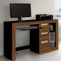 Mesa para Computador EDN Valentina com 3 Gavetas