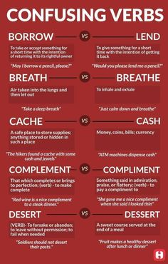 English Vocabulary ©: Some Confusing Words and Their Meanings English Grammar Rules, Learn English Grammar, English Writing Skills, English Idioms, English Vocabulary Words, English Phrases, Learn English Words, Vocabulary Meaning, Grammar Lessons