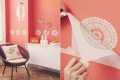 DIY: papel de parede!