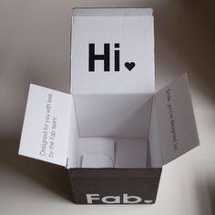 Fab box packaging
