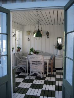 Vintage House: Glasveranda
