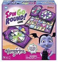ec98390d Amazon.com: Wonder Forge Disney Junior Vampirina Spin Go Round! Game: Toys