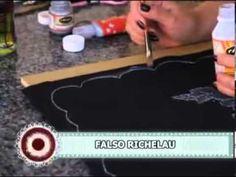 Pintura para Tela sobre Tela Negra - Carola Vargas en Sabores y Algo Más