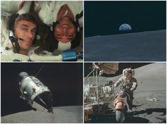 NASA: Las 20 mejores fotos inéditas de las misiones Apolo en la Luna