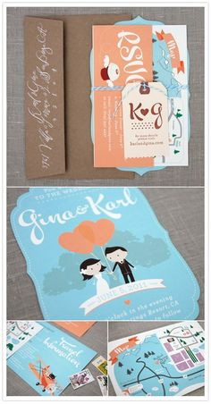 Whimsical Invite