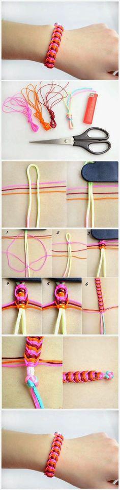 Easy And Beautiful Bracelet | DIY & Crafts Tutorials