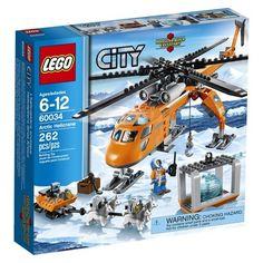 LEGO® City Arctic Helicrane 60034