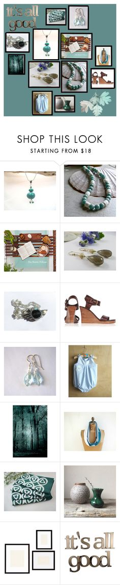 """""""It's All Good"""" by inspiredbyten ❤ liked on Polyvore featuring Pottery Barn and Letter2Word"""