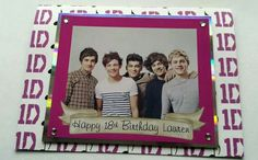 1D Birthday Card