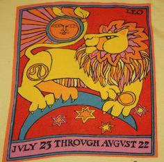 Leo astrology tee 1969