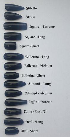 Acrylic Nails Coffin Short, Best Acrylic Nails, Simple Acrylic Nails, Shapes Of Acrylic Nails, Short Stiletto Nails, Natural Stiletto Nails, Natrual Nails, Painted Acrylic Nails, Colourful Acrylic Nails