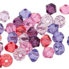 5328 4mm Swarovski Elements Crystal Mix - Flora | Fusion Beads #mothersday