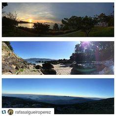 3 panorámicas de #Galicia por @rafasalgueiroperez ¿Cuál es vuestra favorita?