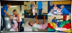Rebound Therapy Collage