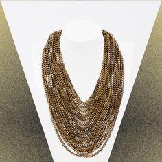 shorty-multy-chain S/S 2016 Marina Fossati Bling Bling, Chain, Jewelry, Fashion, Moda, Jewlery, Jewerly, Fashion Styles, Necklaces