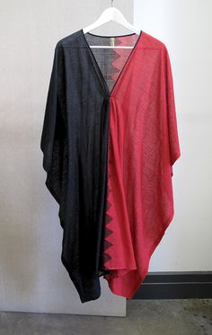 One of a Kind colorblock caftan