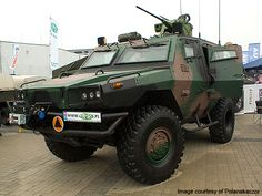 Zubr Wheeled Armoured Personnel Carrier
