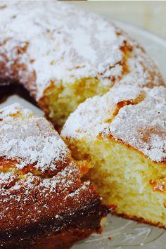Mumofthree nailed this Lemon Yoghurt Cake! We can't wait for a slice.