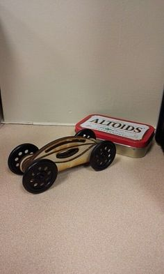 Picture of Easy Laser Cut Wooden Toy Car