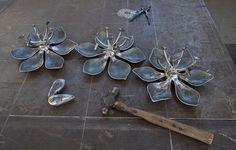 Metal Projects, Welding Projects, Metal Crafts, Metal Garden Art, Metal Art, Plasma Cutter Art, Metal Forming, Infinity Pendant, Soldering Jewelry