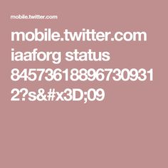 mobile.twitter.com iaaforg status 845736188967309312?s=09