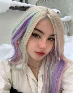 Hair Inspo, Hair Inspiration, Hair Dye Colors, Hair Color, Hair Reference, Dye My Hair, Hair Strand, Pastel Hair, Aesthetic Hair