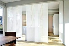 Room divider curtain white with sliding curtains curtains for dividers between . Sliding Curtains, White Curtains, Room Divider Curtain, Oversized Mirror, Kids Room, New Homes, House Design, Furniture, Home Decor