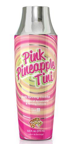 Fiesta Sun Pink Pineapple Tini Tanning Cocktail