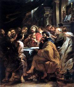 Peter Paul Rubens. Last Supper Тайная Вечеря   (1631 -1632, Пинакотека Брера Милан)