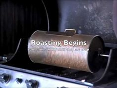 Chickpeas are a great healthy treat and very easy to roast on your grill with the Buzz Roaster!