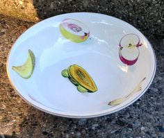 Ideal Ironstone Fruit Bowl Serving Size
