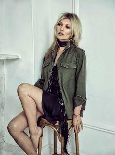 Kate Moss x Equipment | NET-A-PORTER.COM | Kate Moss Universe