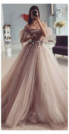 Pretty Prom Dresses, Elegant Dresses, Beautiful Dresses, Elegant Ball Gowns, Best Prom Dresses, Homecoming Dresses, Fairy Prom Dress, Fairytale Dress, Princess Wedding Dresses