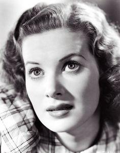 Maureen O'Hara, 1940s.