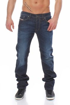 a57863e3 Diesel Jeans Safado 0RF06 Mens Regular Slim Straight 32 x 34 New Authentic