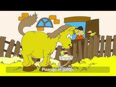 Hop, hop, hop, paardje in galop - Kinderliedjes van vroeger - YouTube