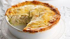 Chicken and leek pie recipe - 9kitchen