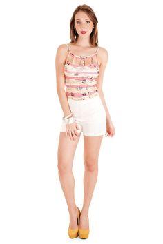 12337 - Blusa | 05564 - Shorts
