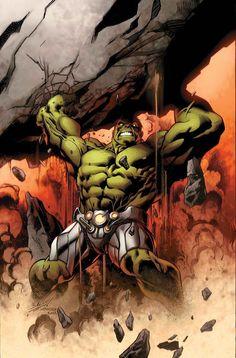 Hulk #2 variant cover by Mark Bagley *