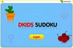 Aprender a jugar al Sudoku va a ayudar a nuestros niños a estimular y potenciar sus habilidades matemáticas, lógica y pensamiento crítico. Kids Education, Discovery, Math, Ideas, Math Skills, Critical Thinking, Educational Games, Math Games