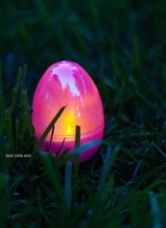 Glow in the Dark Easter Egg Hunt - This is a fun idea for an Easter egg hunt! Use DIY glow in the dark eggs and put them out in the dark for kids on Easter! Battery tealights in eggs. Smart School, Homemade Laundry Detergent, Glow, Old Fashioned Recipes, Candy Melts, Easter Recipes, Easter Ideas, Egg Hunt, Diy Projects To Try