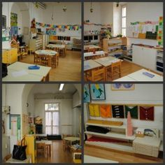 Inside the first classroom.  http://vibrantwanderings.com/2012/02/visiting-montessoris-first-casa-dei-bambini.html