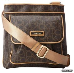 Calvin Klein Hudson Monogram Bag - PinBuy