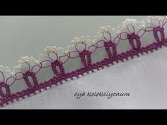 Elegant Crochet Lace with Spider - Stricken Crochet Shoes, Bead Crochet, Filet Crochet, Crochet Doilies, Crochet Lace, Crochet Borders, Crochet Stitches, Embroidery Stitches, Hand Embroidery
