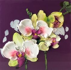3121 Purple orchid 31x31-1