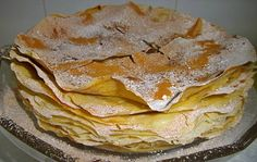 My Recipes, Sweet Recipes, Baking Recipes, Cake Recipes, Favorite Recipes, Portuguese Desserts, Portuguese Recipes, Food Cakes, Peaches And Cream Cake Recipe