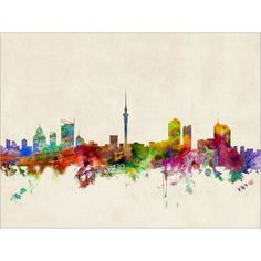 auckland skyline stencil - Google Search