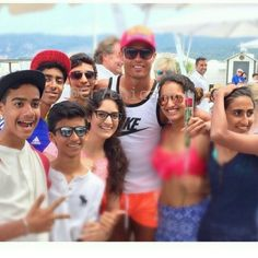 Cristiano Ronaldo with fans in St.Tropez 05/31/15