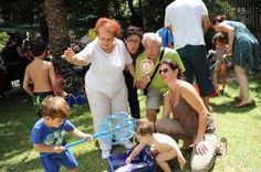 Last summer day activity with grandchildren
